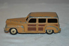 Dinky Toys 344 Plymouth Woody Station Wagon in good plus original condition
