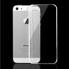 Clear Transparent Ultra Thin Soft Back Case Cover For Apple iPhone 5 5S SE
