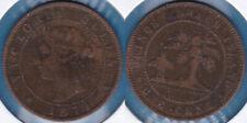 Canada Prince Edward Island 1871 1 Cent-Victoria Bronze KM-4 VF #108 - US Seller