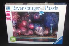 Ravensburger Puzzles Fireworks Over Seattle 1000pcs New Sealed