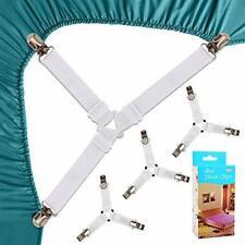 Felly Sangles Pour Draps De Lit 4 Pièces Attache Drap Housse Triangle Attache M