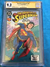 Adventures of Superman #505 - DC - CGC SS 9.2 - Signed by Kesel, Grummett