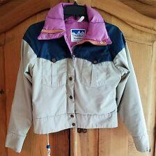 Powderhorn Mountaineering Youth Goose Down Winter Jacket Coat 8 Western