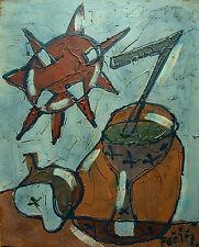Bohumil KECIR (1904-1987) Stillleben mit Eisbecher Nr. F39