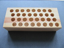 Wooden Scissors Storage Box holds 32 pairs scissors school nursery