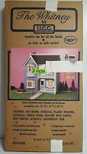 THE WHITNEY WOOD  DOLLHOUSE KIT Gingerbread DOLL HOUSE Craft Building NEW IN BOX