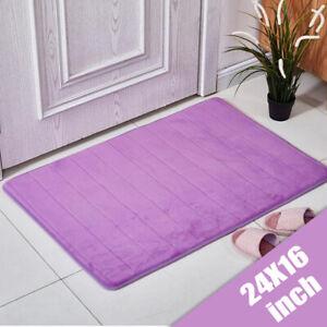 Non Slip Door Mat Absorbant Small Rugs Mats Carpet Kitchen Outdoor Indoor Home