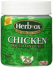 (6 Jars) Hormel Herb Ox Bouillon Cubes Chicken Bouillon 3.25 oz Each Exp 9/2021