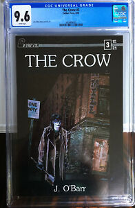 The Crow 3 CGC 9.6 NM+ White Pages James O'Barr 1st Print 1989 Brandon Lee Movie