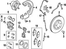 freelander 2 td4 front brake shield freelander brake disc back plate RH front