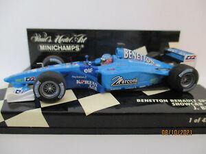 BENETTON B201 RENAULT, #8, Jenson Button, 2001, L.E.!!!