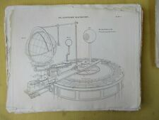 Vintage Engraving,PLANETARY MACHINES,Orrery,1810