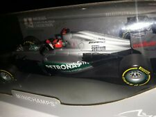 1/18 Schumacher Mercedes 2012 W03 Last Podium Valencia🥉 Minichamps Ltd 1002pcs