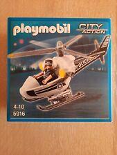 PLAYMOBIL City Action 5916 Polizeihubschrauber, Neu in OVP!