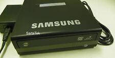 Samsung SE-S204N DVD-R/RW External Lightscribe SE-S204 Drive W AC Adapter Black
