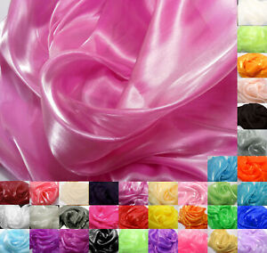 Kxx Shiny Mirror Crystal Organza Bridal Dress Wedding Decoration Fabric Material