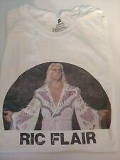 NWA Ric Flair vintage iron on new Men's Hanes white T Shirt Size 2X