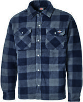 Dickies Portland Work Shirt Blue (Various Sizes) Men's Padded Lumberjack Top