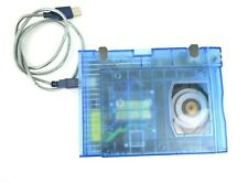 UNTESTED Iomega ZIP 100 USB External Drive Z100USB Clear Blue No Power Cord.