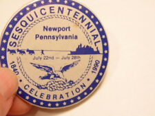 1990 Newport, PA (Perry County) sesquicentennial souvenir pin