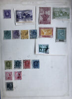 Spain Stamp Collection On 12 Pages