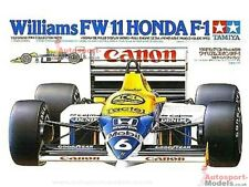 1/20 Williams FW11 Hond Turbo Tamiya kit with detailing accessories.