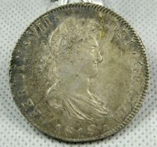 1819 JJ Mexico 8 Reales Silver Coin XF+