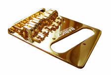 Babicz Full Contact Hardware Telecaster Bridge Gold FCHTELEGD