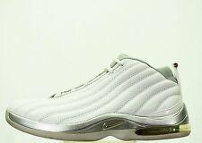 VINTAGE 2002 NIKE AIR MAX CHOSEN BASKETBALL SHOE MEN SIZE 7.5 WHITE 303968 104
