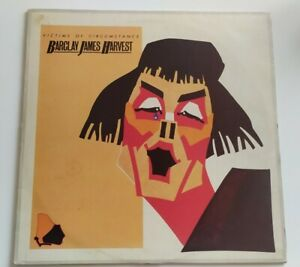 Vinyl LP Barclay James Harvest Victims Of Circumstance 1984 Polydor POLD5135