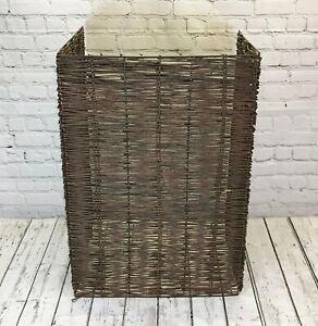 Garden Dustbin Wheelie Bin Store Storage Screen Tidy Hide Willow (Single)