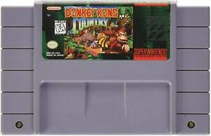 Donkey Kong Country 1 2 3 All Version SNES USA Cartridge Super Nintendo Game DKC