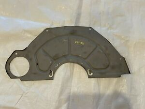 1967-1972 Inspection Cover Dust Shield Manual Transmission 4 Speed Muncie