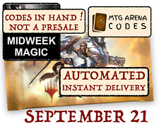 MTG Arena code card FNM / Midweek Magic Promo Pack SEPTEMBER 21 - INSTANT MAIL -