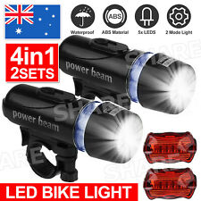 2 set Bike light LED tail light Bicycle lights Bike front & rear light NEW