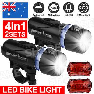 2 set Bike light LED tail light Bicycle lights Bike front & rear light NEW