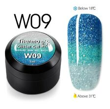 Temperature Change Glitter Color Gel Polish Cool Thermal Magic Effect Nail