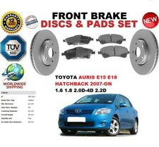 für Toyota Auris Fließheck E15 E18 07-12 295mm Vorderbremse Scheibensatz +