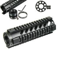 7'' Tactical Rifle Free Float Quad Rail Keymod Handguard Picatinny Rail,End Cap