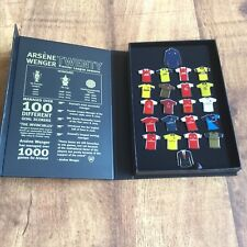 Arsène Wenger 20 Years Limited Edition Pin badge Set Arsenal Commemorative