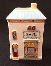 "Lenox ""Spice Village"" 1989  BASIL  Cottage Fine Porcelain"