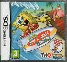 SPONGEBOB: SURF & SKATE: ROADTRIP GAME DS DSi Lite 3DS (road trip) ~NEW / SEALED