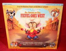 Laserdisc [n] * An American Tail ~ Fievel Goes West * James Stewart John Cleese