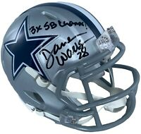 Darren Woodson autographed signed inscribed mini helmet Dallas Cowboys JSA COA