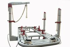 20 Feet Long Auto Body Shop Frame Machine With 3 Towers 360 Degree Ready To Ship