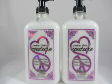 PEACE LOVE COUTURE MOISTURIZER AFTER TANNING LOTION by Devoted Creations -2 PACK