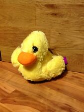 Cute Furry Little Duck Soft Toy