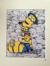 Despicable Me - Minions - Golf -  Hand Drawn & Hand Painted Cel