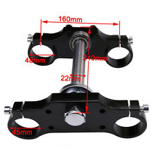 Triple Clamp Bar Riser For 22mm Handlebar 45mm/48mm Front Fork Dirt Pit Bike su0