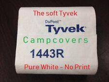 "9 X 5ft  Dupont ""SOFT"" Tyvek~1443R~NO PRINT~ground ""CLOTH"" sheet ~Tent Footprint"